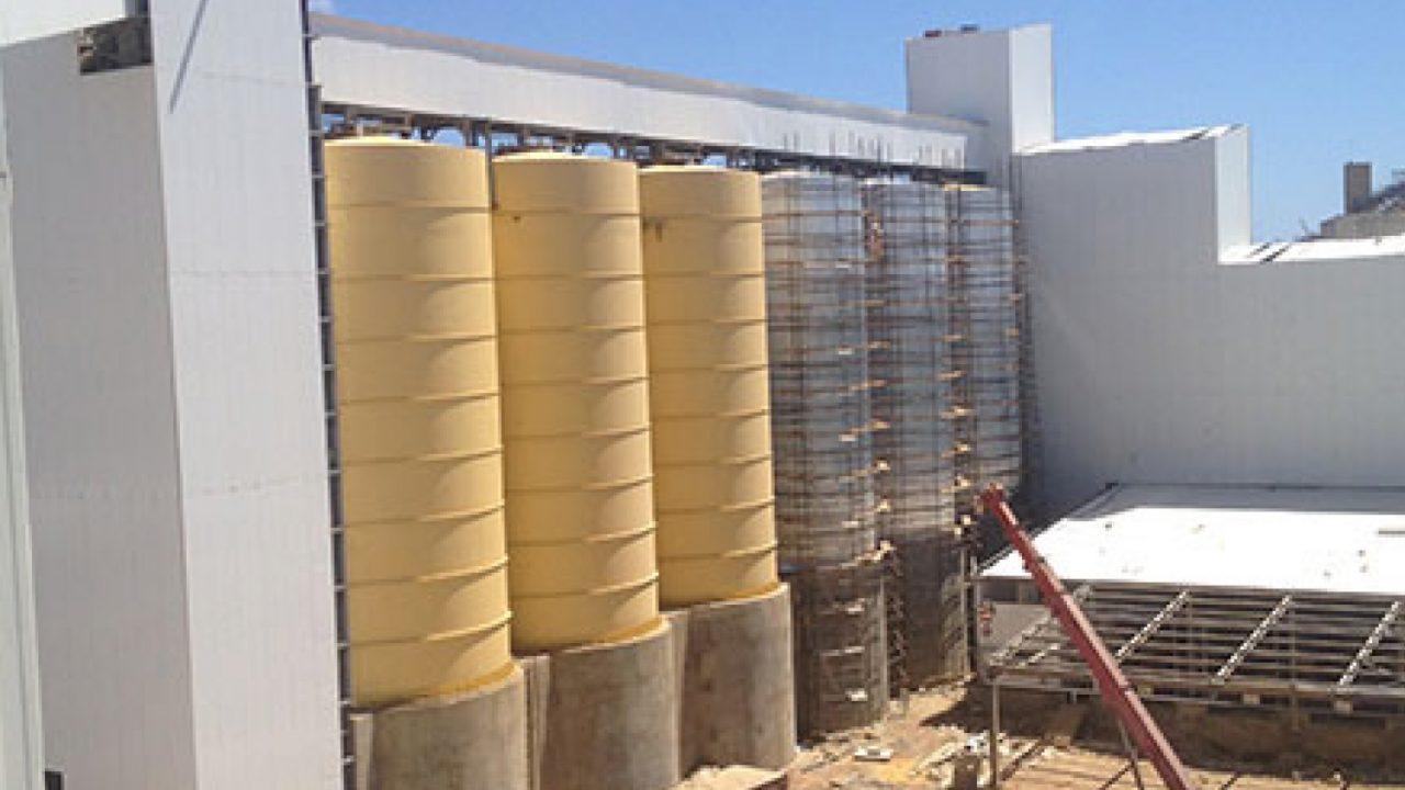 Projet Raffinerie de sucre - Calorifugeage des équipements et des tuyauteries